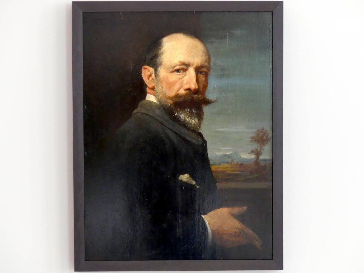 Rudolf Kuppelmayr: Selbstbildnis, um 1885