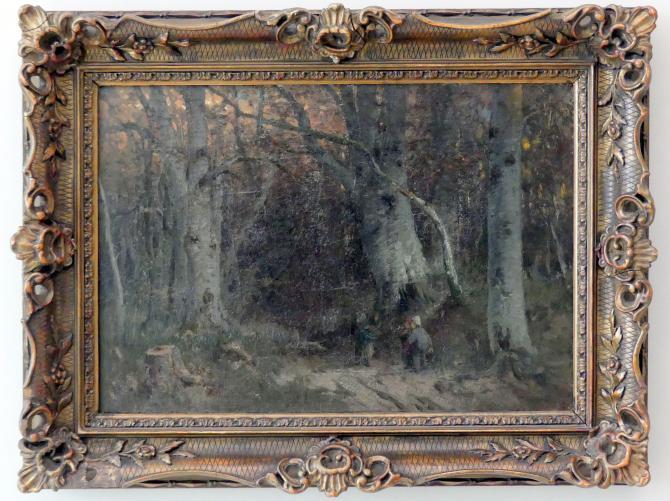 Joseph Wopfner: Hänsel und Gretel, 1875