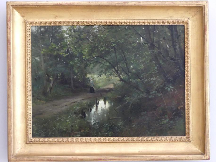 Ludwig von Löfftz: Waldinneres, Undatiert