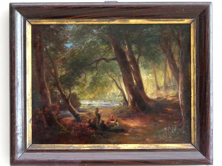 Ludwig Gebhardt: An der Würm, 1866