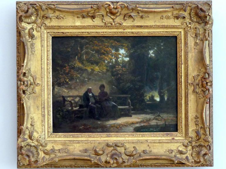 Carl Spitzweg: Ausruhende Spaziergänger, um 1865 - 1870
