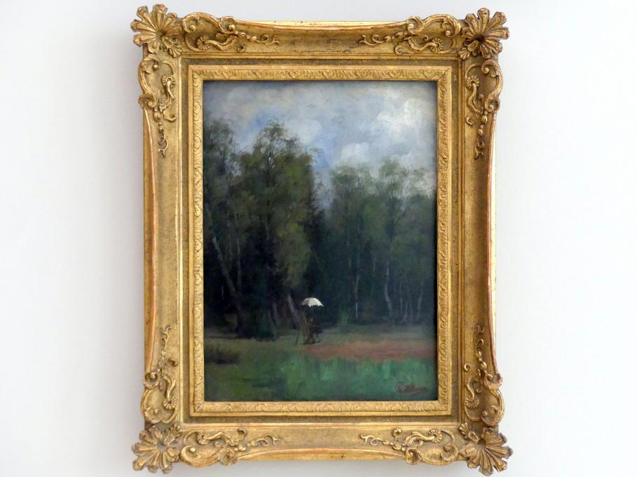 Philipp Helmer: Maler am Rande des Waldes, Undatiert
