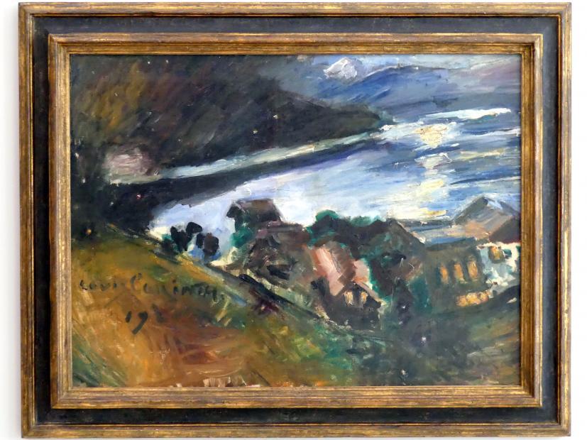 Lovis Corinth: Der Walchensee bei Mondschein, 1920