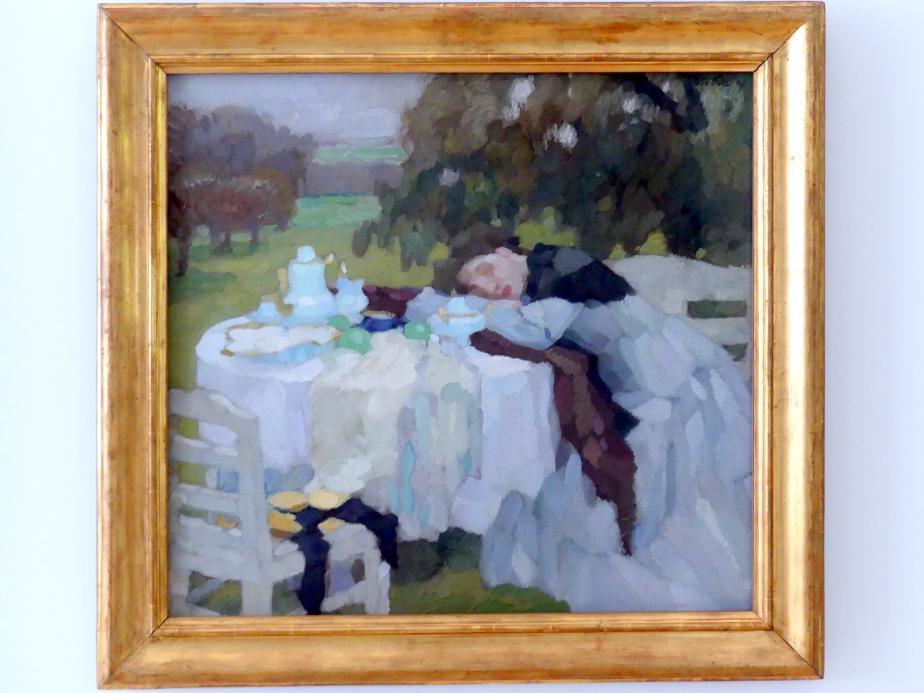 Leo Putz: Spätherbst, 1908