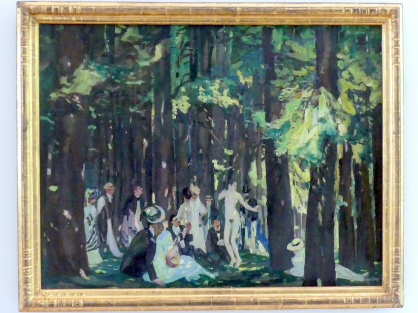 Albert Weisgerber: Sommertag, 1907