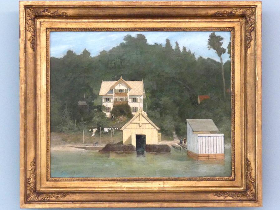 Gabriel von Max: Das Wohnhaus des Künstlers in Ammerland, nach 1875