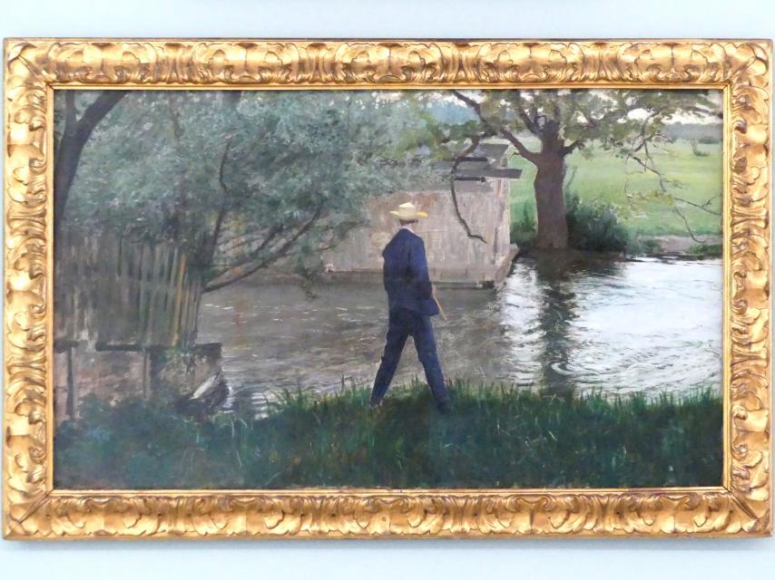 Thomas Theodor Heine: Der Angler, 1892