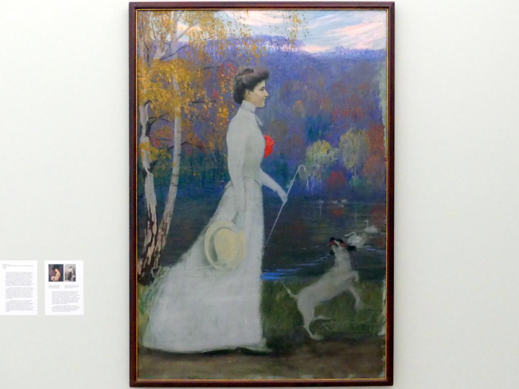 Hans Olde: Caroline Grossherzogin von Sachsen-Weimer-Eisenach, um 1903