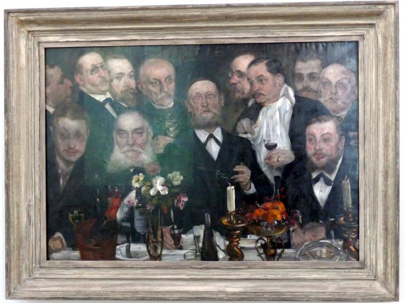 Lovis Corinth: Die Logenbrüder, 1898 - 1899