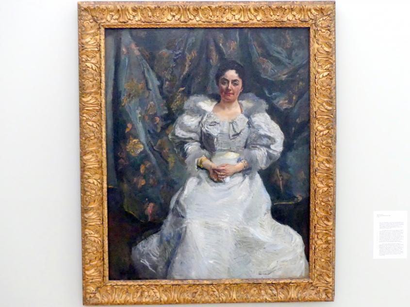 Max Slevogt: Frau Louise Papenhagen, 1899