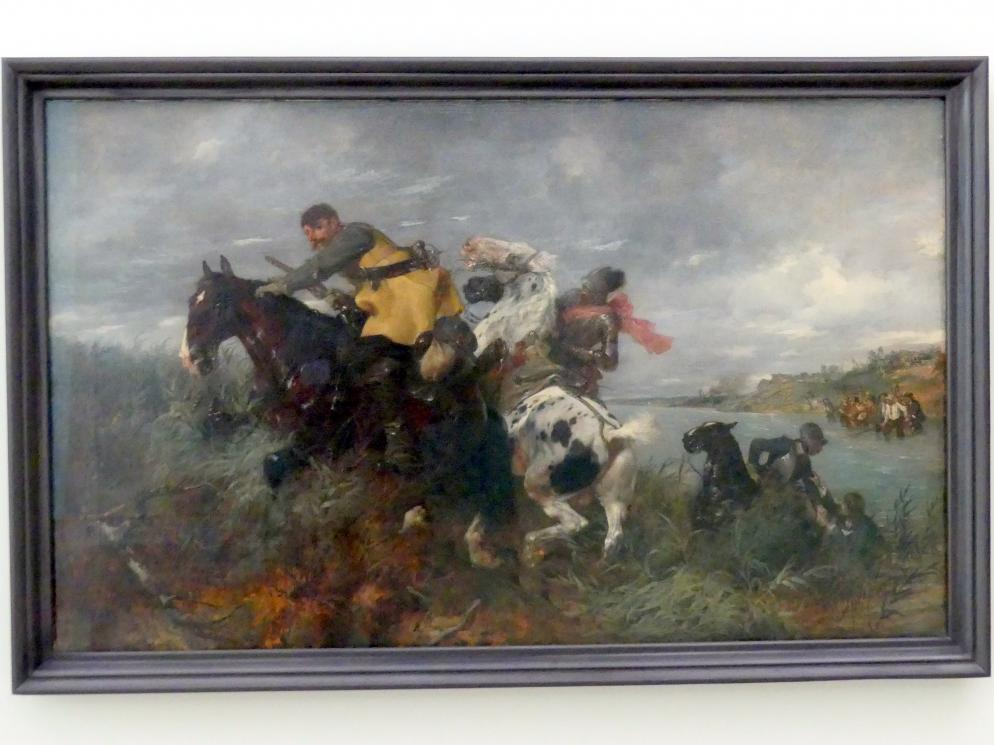 Wilhelm von Diez: Entwischt, 1890