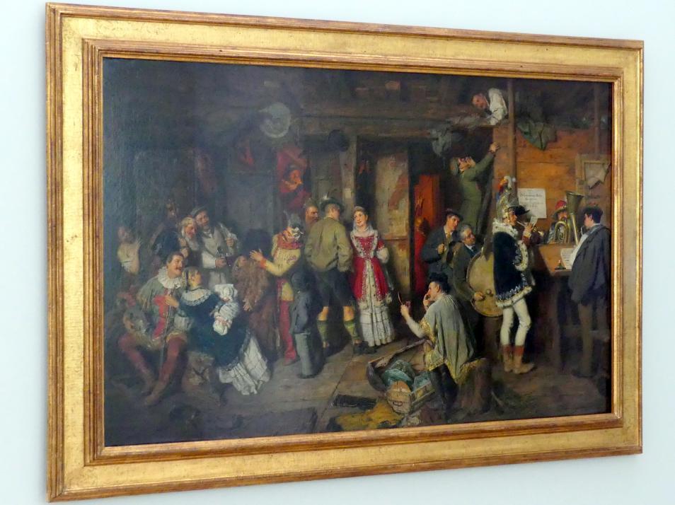 Eduard von Grützner: Bauerntheater, 1882