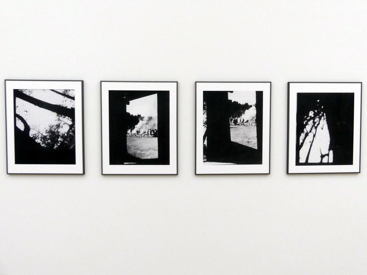 Gerhard Richter: 4 Fotos Birkenau (zu WV 937 B), 2015