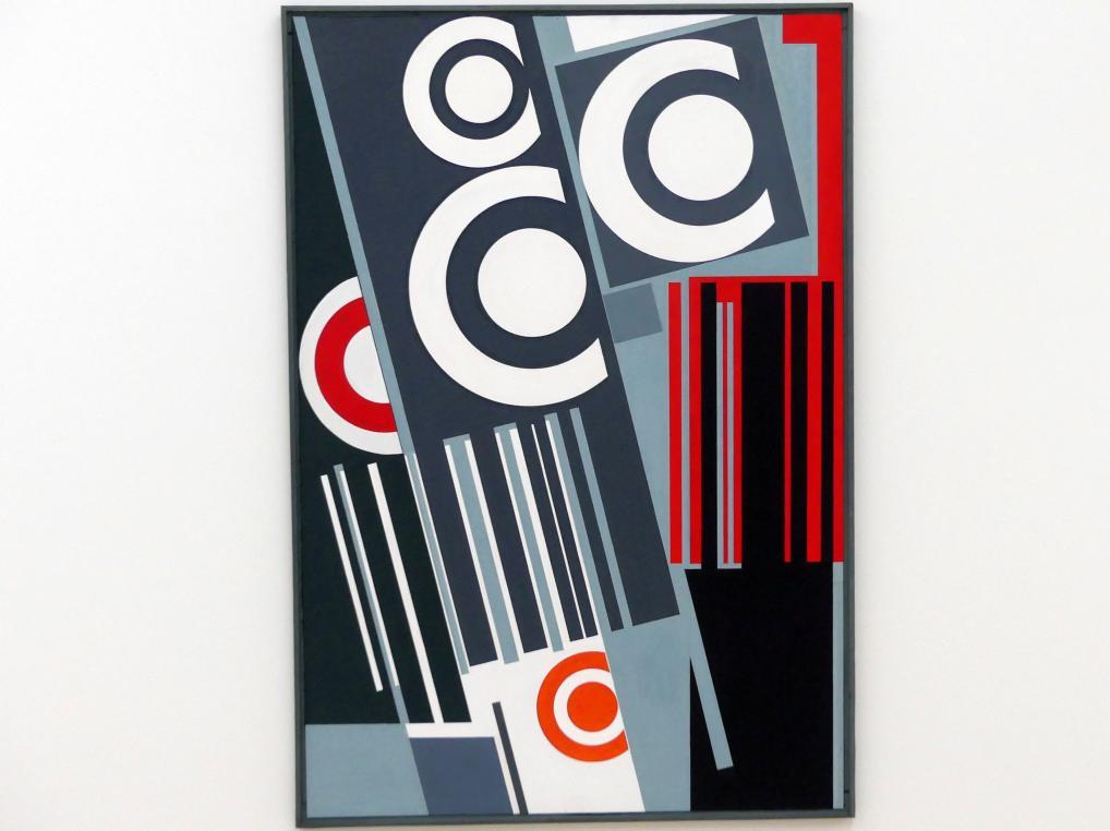 Günter Fruhtrunk: Kreise von Delaunay / Reihe und Kreise, 1958 - 1959