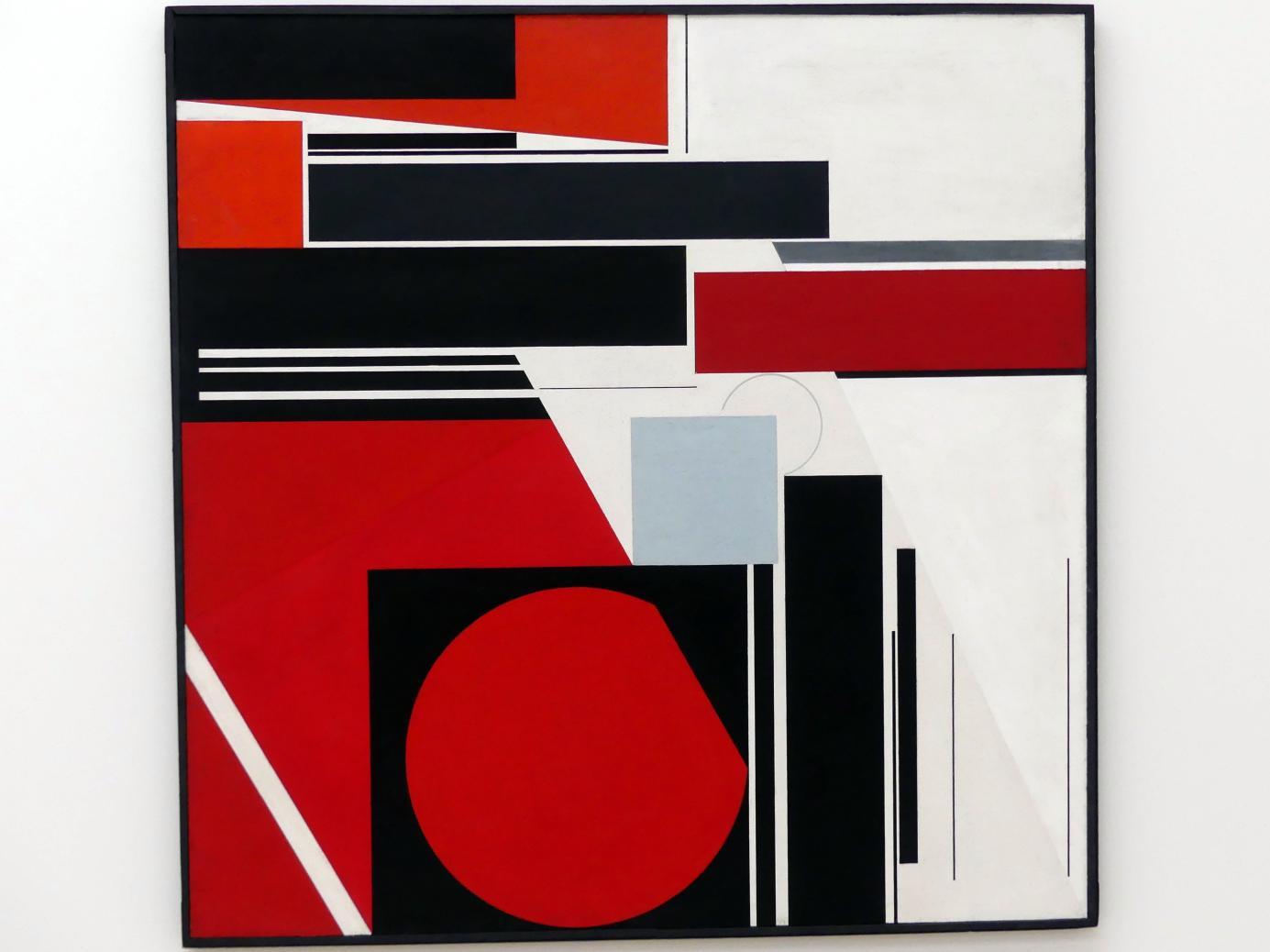 Günter Fruhtrunk: Gestaltung ins Quadrat, 1959