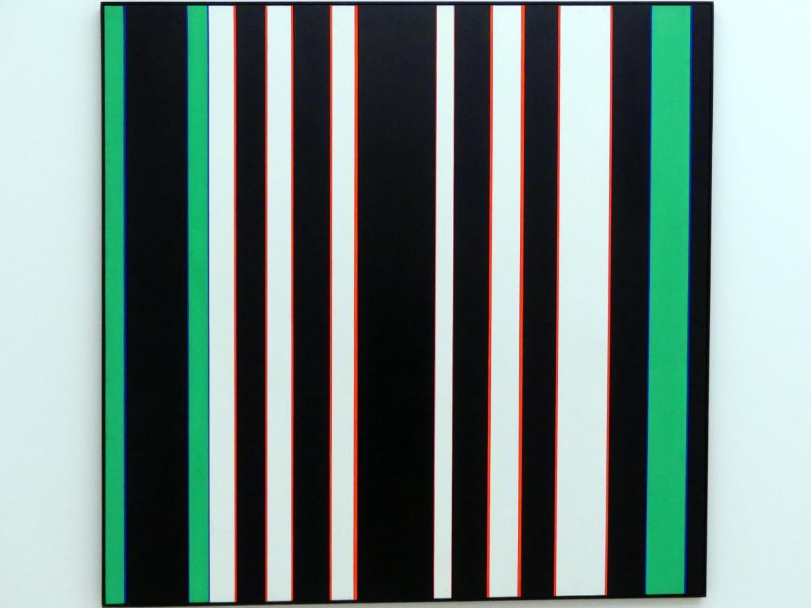 Günter Fruhtrunk: Rote Vibration, 1968