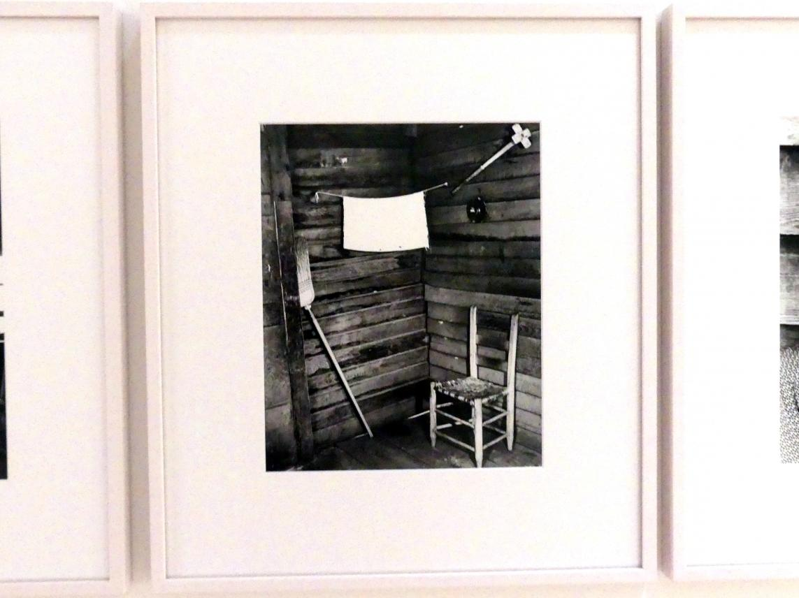 Walker Evans: Kitchen corner in Floyd Burroughs' house, Hale County (Alabama), 1936