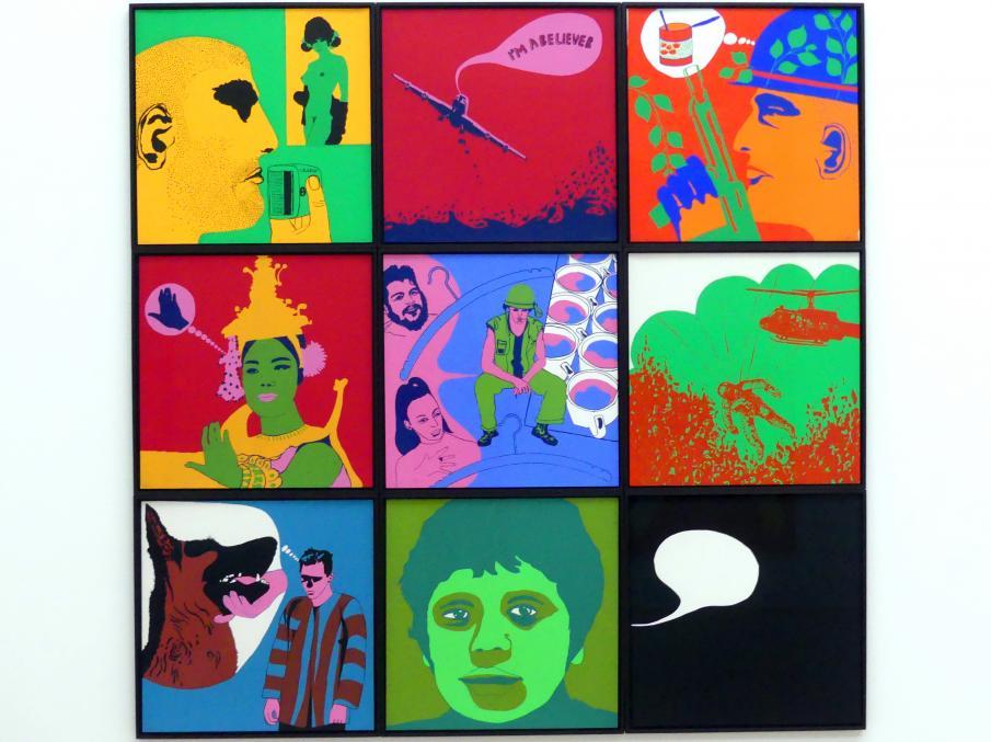 Ulrike Ottinger: Journée d'un G.I., Nr. 1-9, 1967