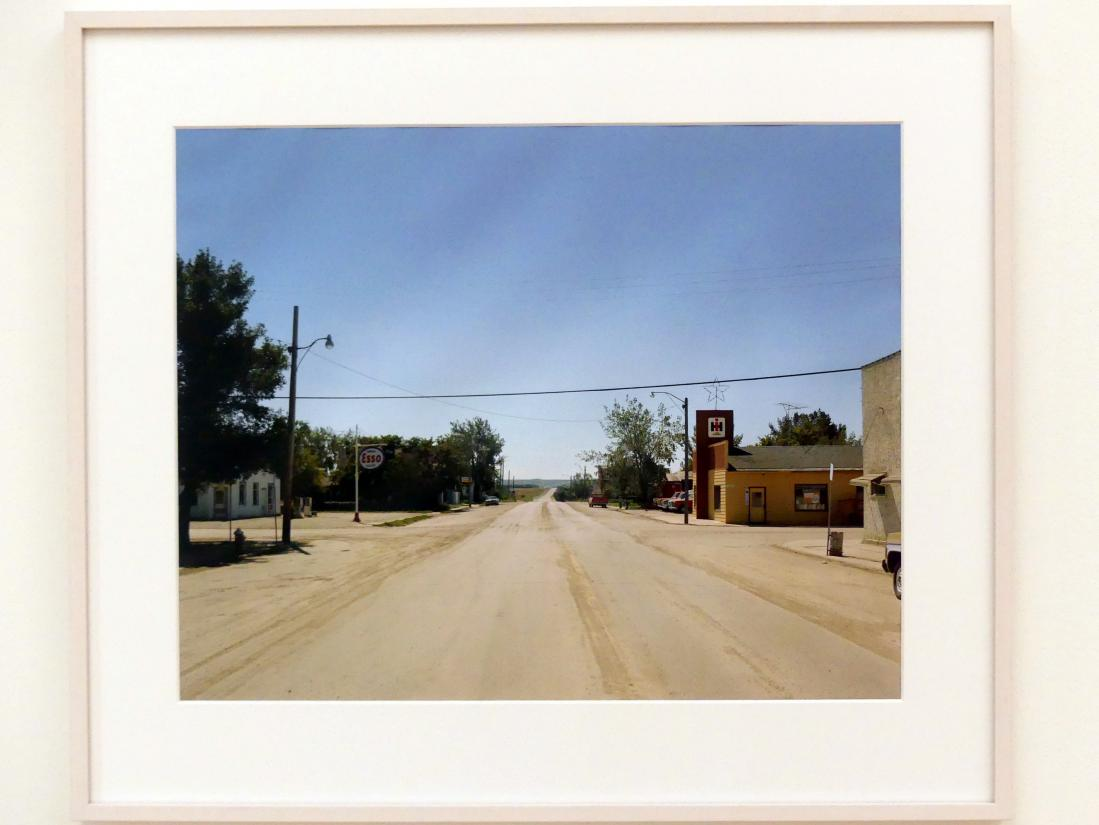 Stephen Shore: Proton Avenue, Gull Lake, Saskatchewan, August 18, 1974, 1974