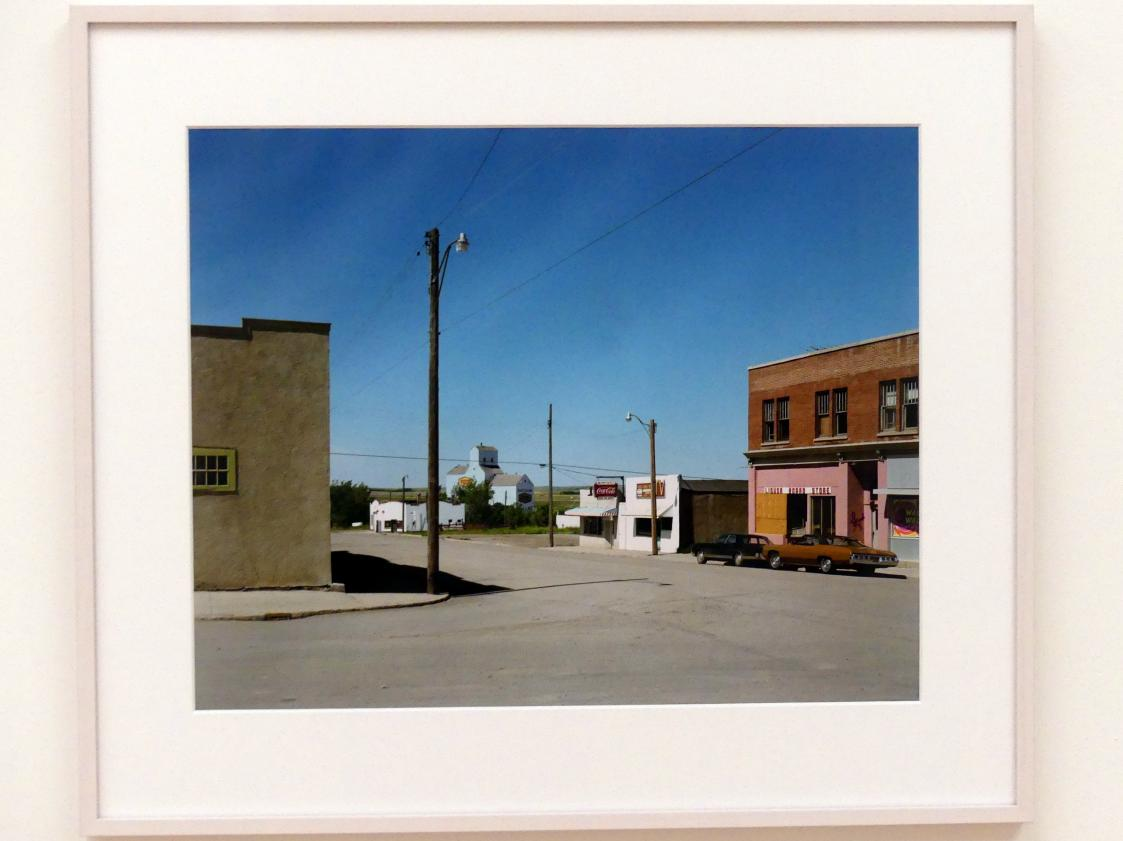 Stephen Shore: Main Street, Gull Lake, Saskatchewan, August 18, 1974, 1974