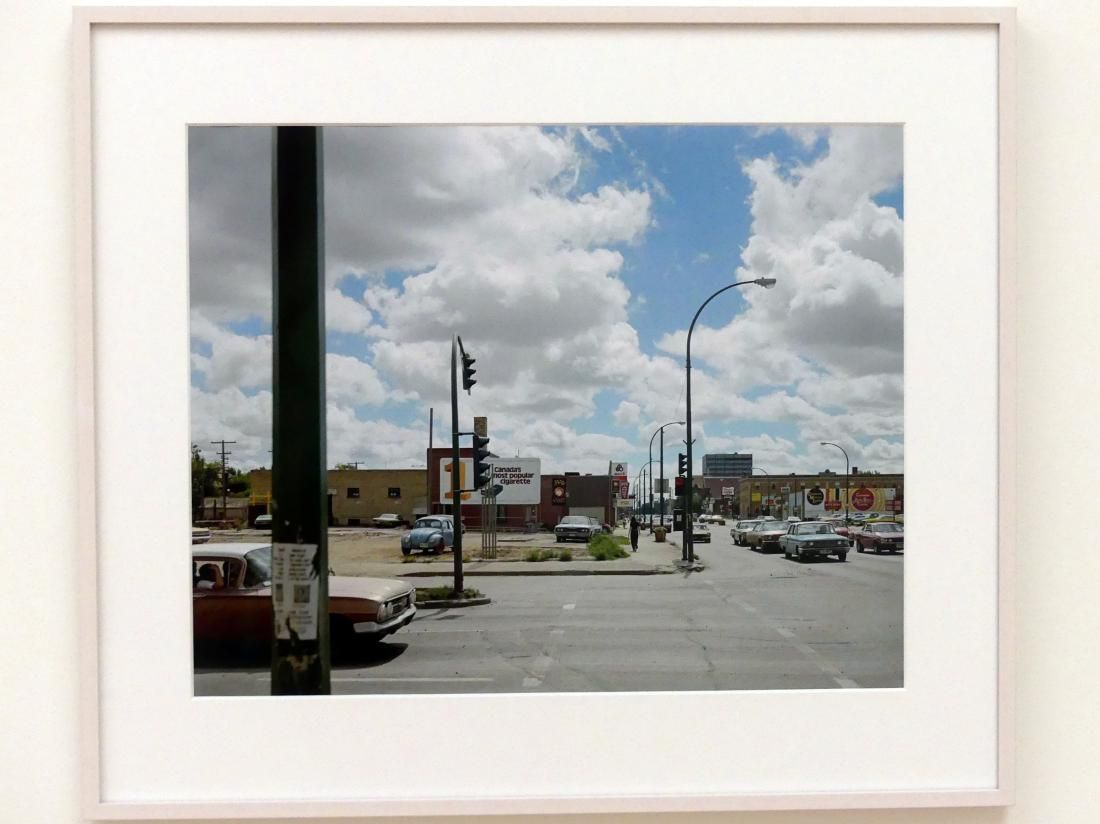 Stephen Shore: Victoria Avenue and Albert Street, Regina, Saskatchewan, August 17, 1974, 1974