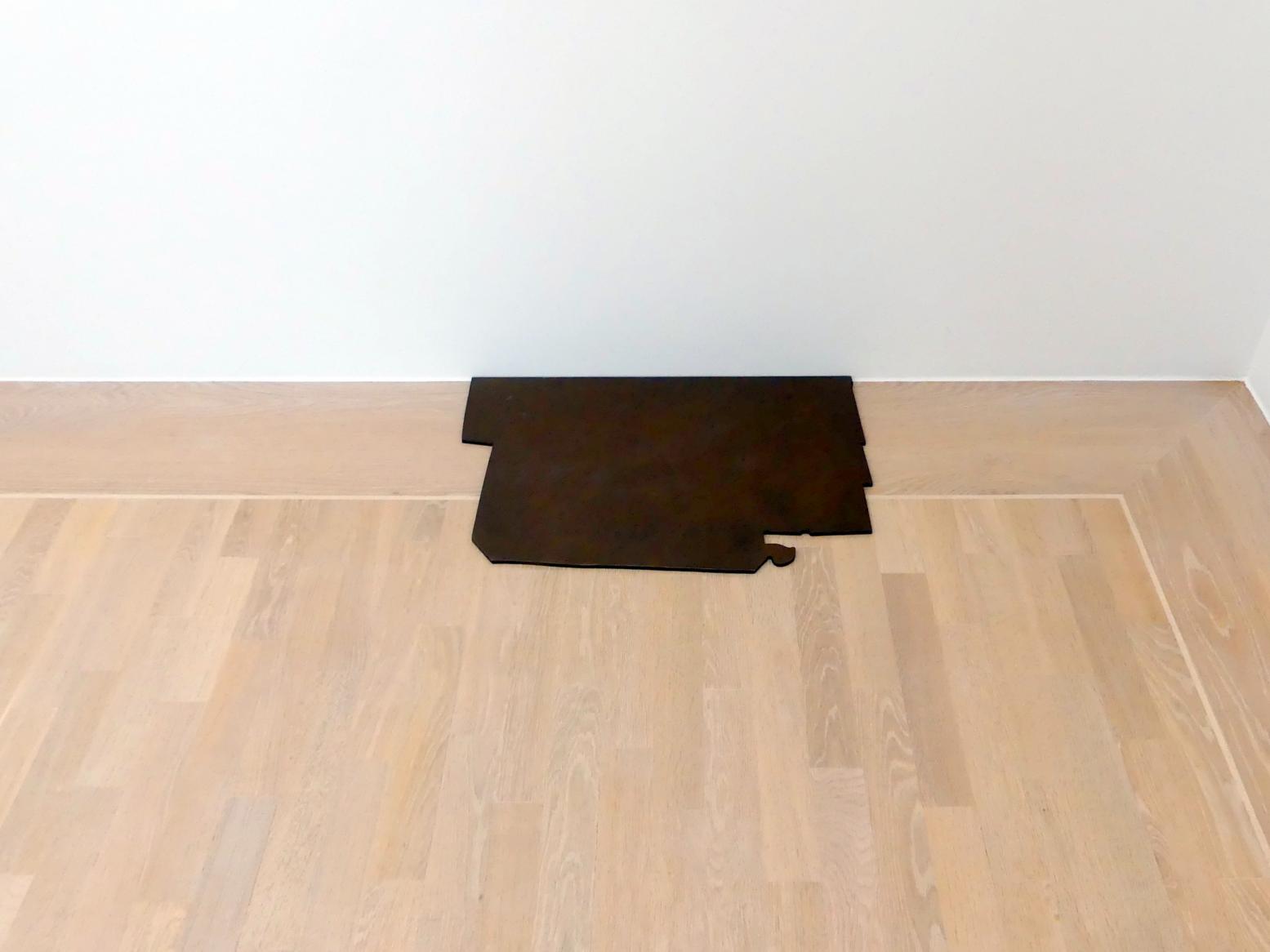 Joseph Beuys: Ohne Titel (Kupferplatte für die Ofenstelle), 1962 - 1970