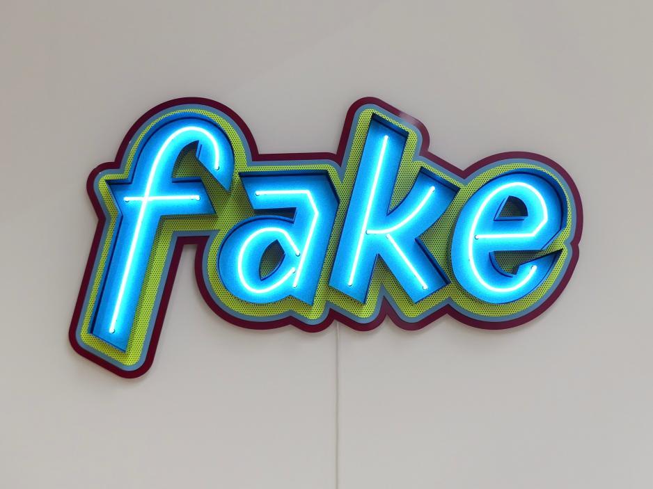 Pietro Sanguineti: fake, 2015
