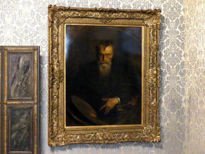 Franz von Lenbach: Selbstporträt, 1902 - 1903