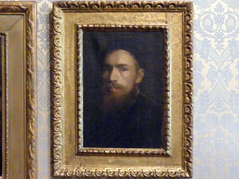 Franz von Lenbach: Selbstporträt, um 1865
