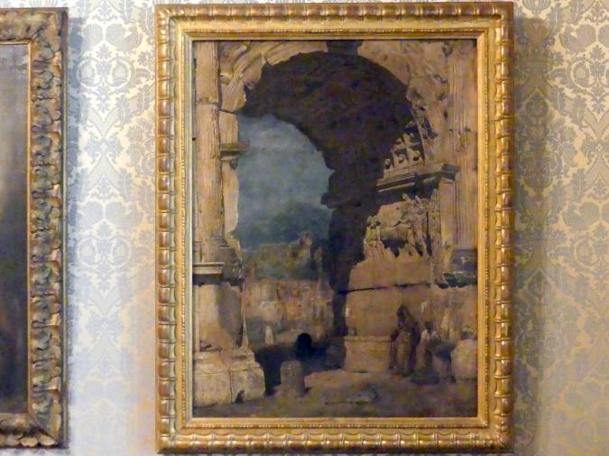 Franz von Lenbach: Studie zu dem Gemälde Der Titusbogen in Rom, 1858