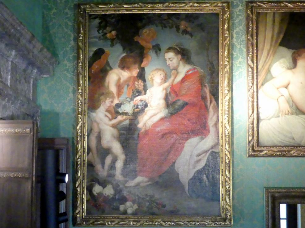 Die Heilige Familie unter dem Apfelbaum, Um 1635 - 1640