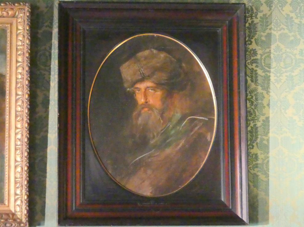 Franz von Lenbach: Hermann Levi, um 1885 - 1890