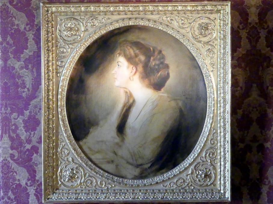 Franz von Lenbach: Margarethe von Stumm (?), um 1902