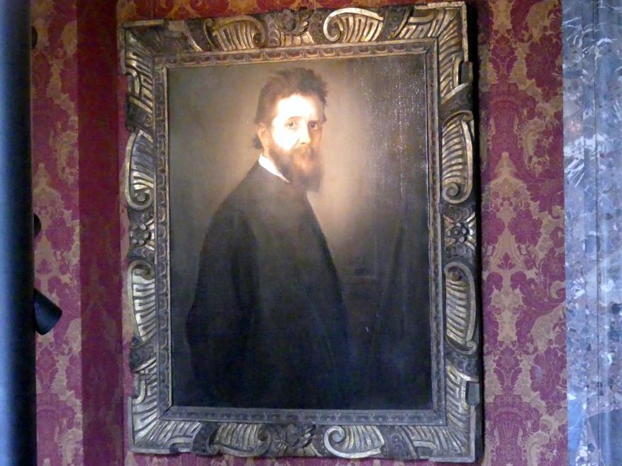 Franz von Lenbach: Der Maler Adolf Oberländer, um 1889