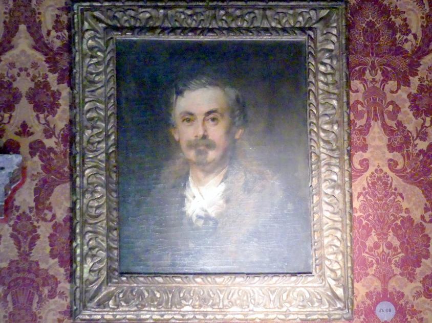Franz von Lenbach: Adolf Friedrich von Schack, um 1870