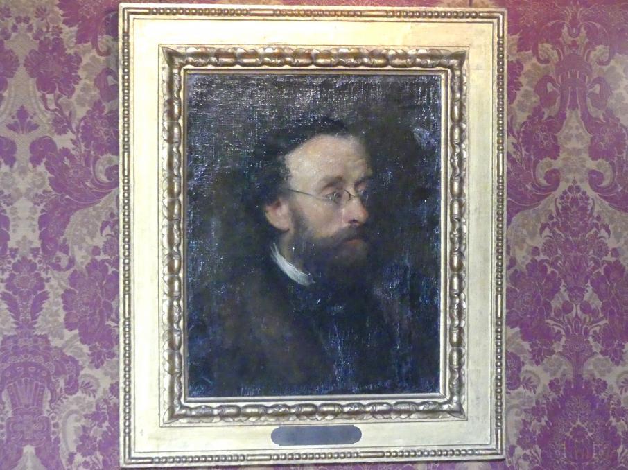 Franz von Lenbach: Der Landschaftsmaler Eduard Schleich d. Ä., um 1863