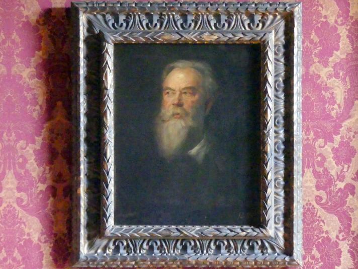 Franz von Lenbach: Der Maler Franz von Seitz, um 1878