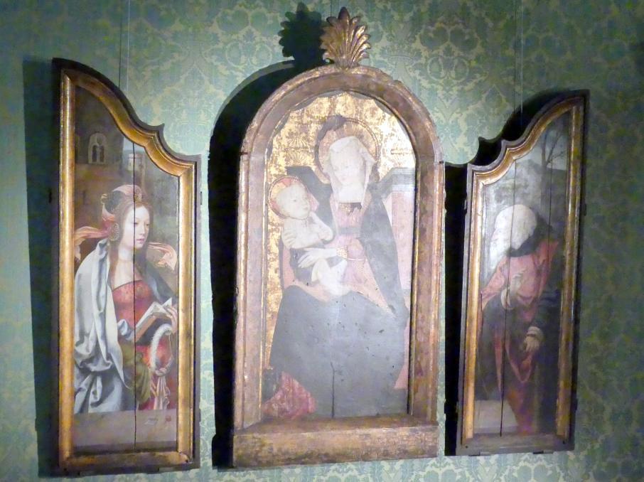 Heilige Barbara und Heiliger Joseph (Seitenflügel), Um 1520