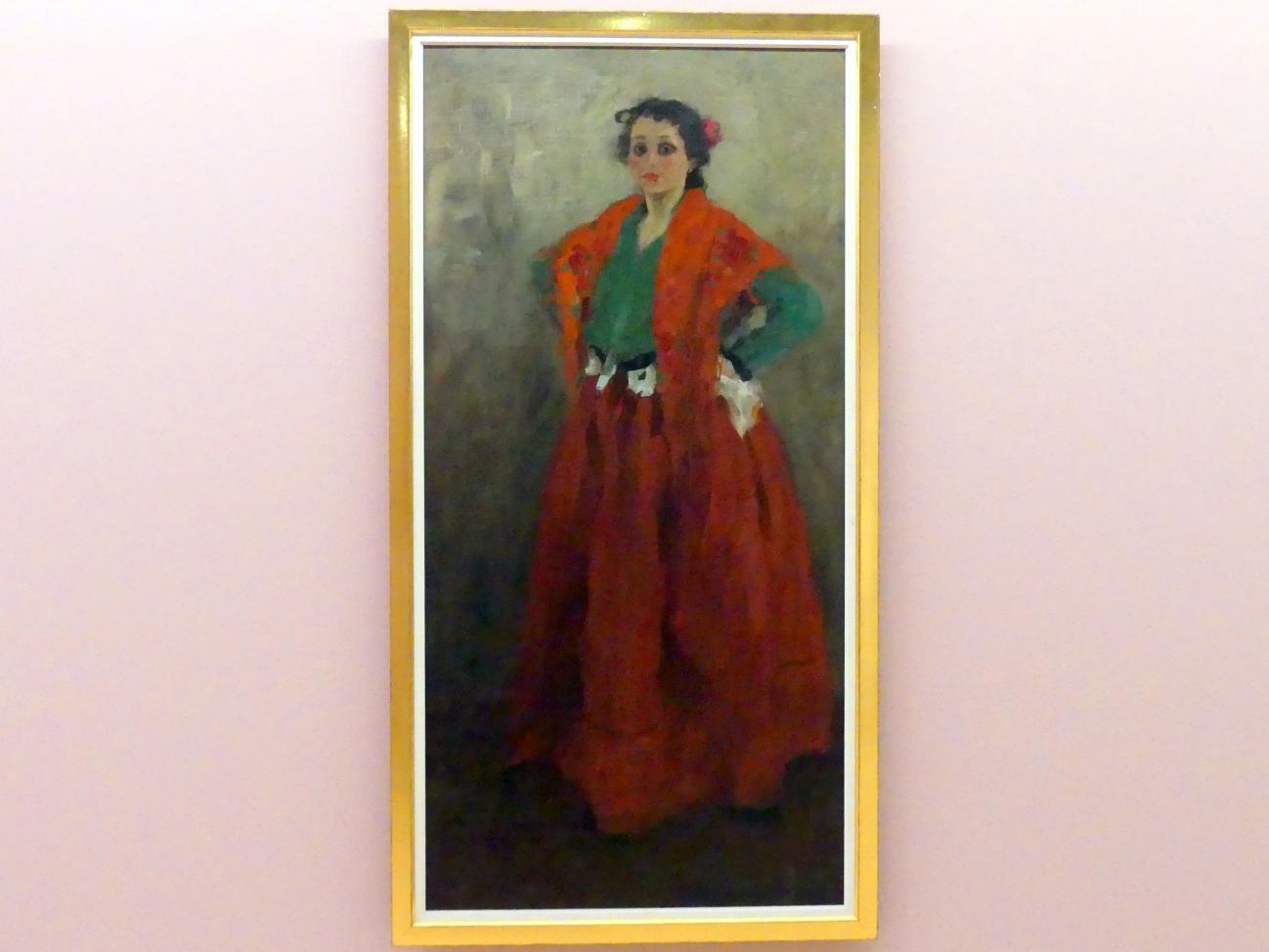 Alexej von Jawlensky: Helene im spanischen Kostüm, um 1901 - 1902
