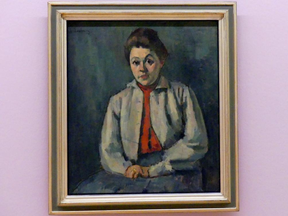 Alexej von Jawlensky: Helena mit roter Weste, 1907