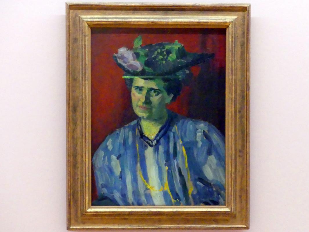 Alexej von Jawlensky: Porträt Hedwig Kubin, 1906