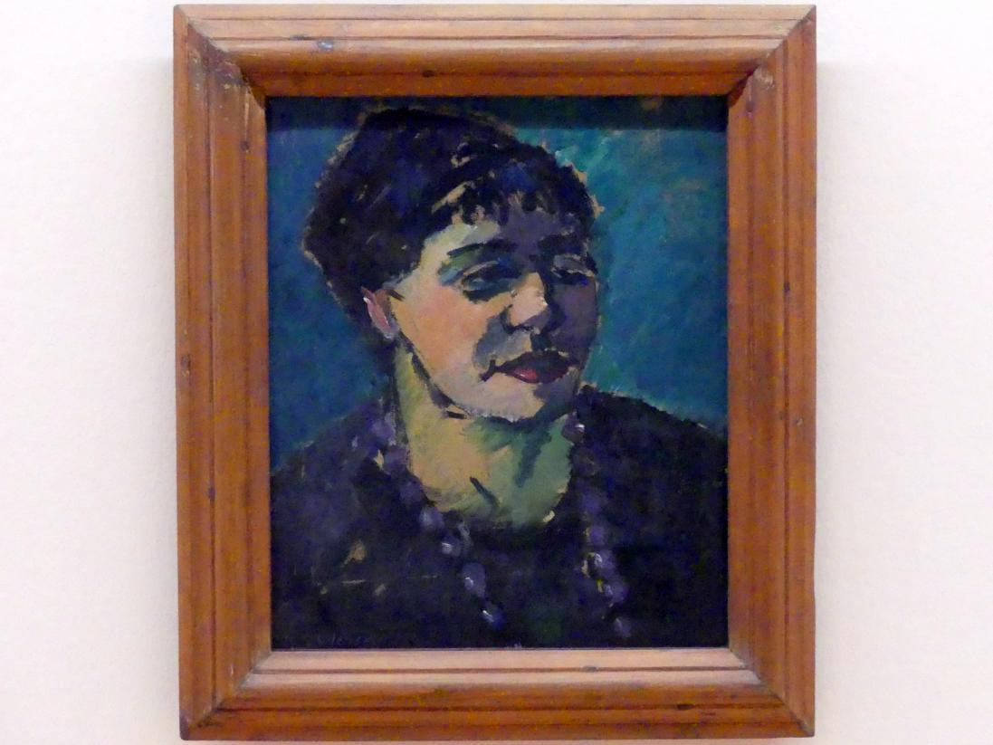 Alexej von Jawlensky: Bildnis Frau Epstein, um 1906 - 1907
