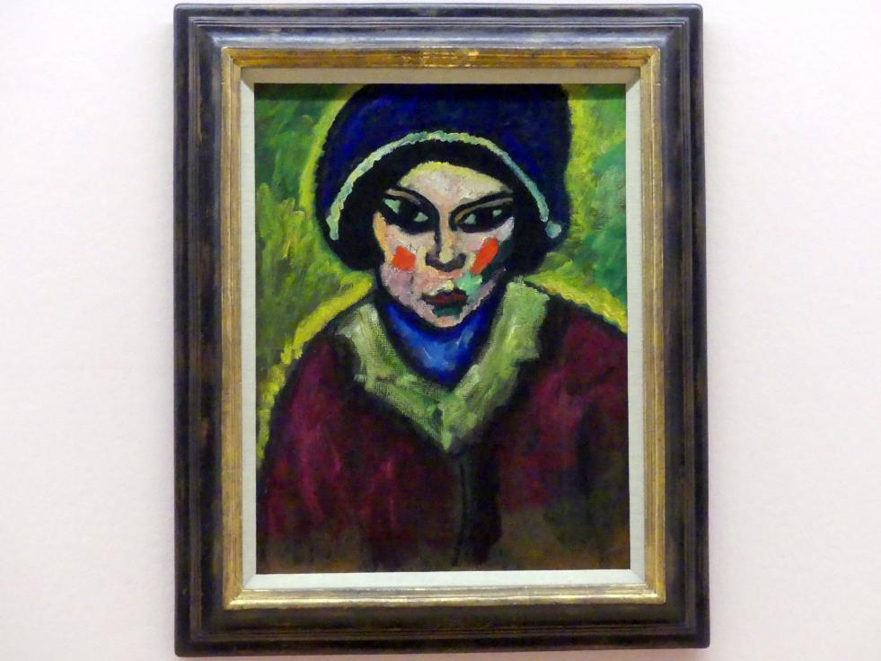 Alexej von Jawlensky: Mutter des Nikita, 1909 - 1910