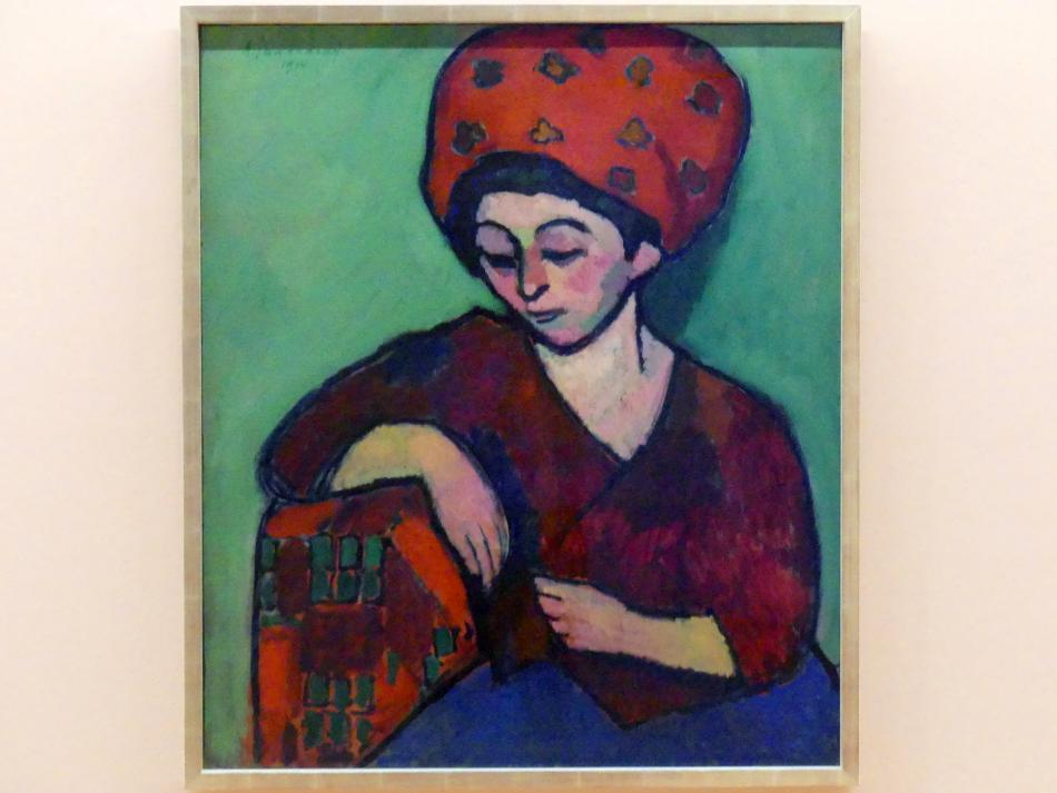 Alexej von Jawlensky: Helene mit buntem Turban, 1910