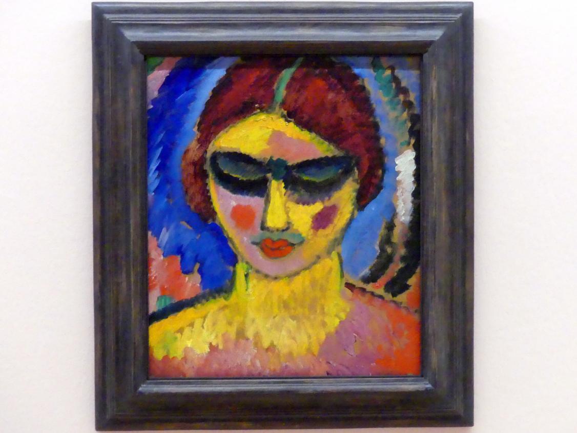Alexej von Jawlensky: Mädchen mit niedergeschlagenen Augen, um 1912