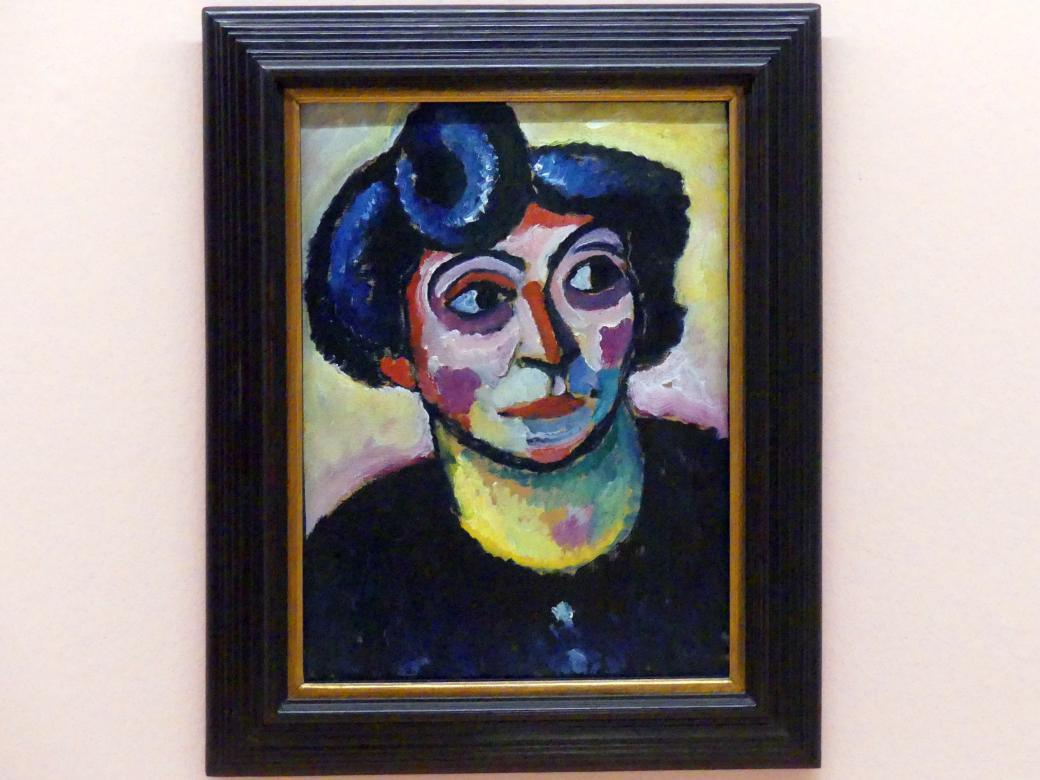 Alexej von Jawlensky: Frau mit Stirnlocke, 1912 - 1913