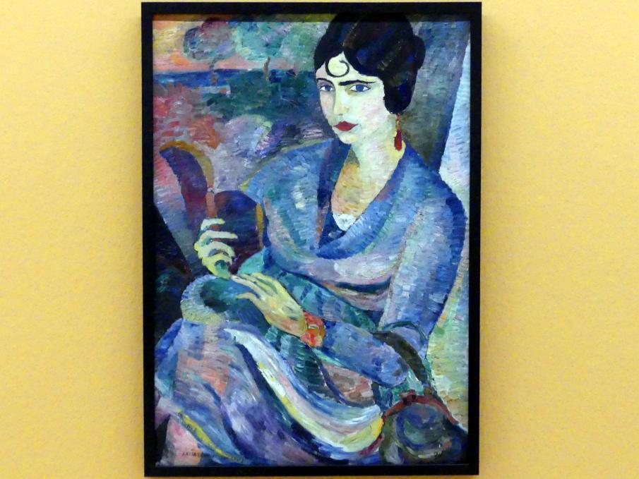 Alexej von Jawlensky: Bildnis Clotilde Sacharoff, 1919