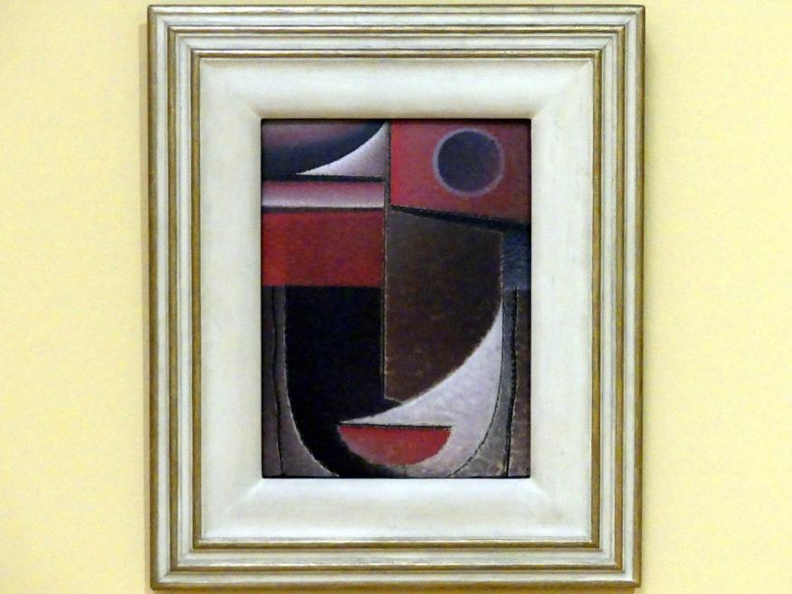 Alexej von Jawlensky: Abstrakter Kopf: Rotes Licht, 1930