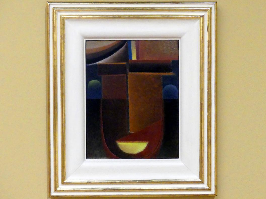 Alexej von Jawlensky: Abstrakter Kopf: Großes Geheimnis, 1933