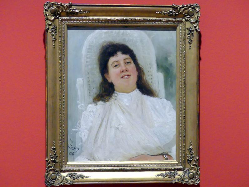 Ilja Jefimowitsch Repin: Bildnis Marianne von Werefkin, 1888